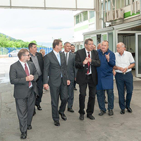 The Prime Minister, Dr. Miro Cerar visited us