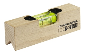 HRL110 - Wooden advertising spirit level