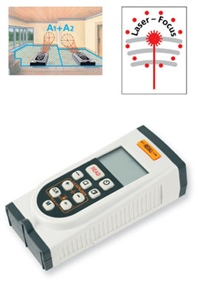 BU Ultrasonic distance metre with laser