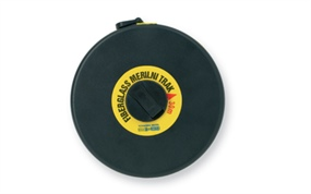 MOF… Measuring tape in case, FIBERGLASS